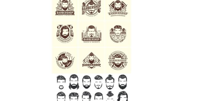 Barbershop vectors cdr dxf files to download