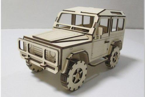 Land Rover Defender CAR dxf to cut artcam corel vectric aspire vcarve