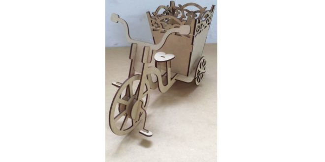 Tricycle cachepot