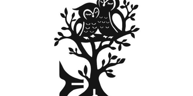 Tree with couple of owls 6mm