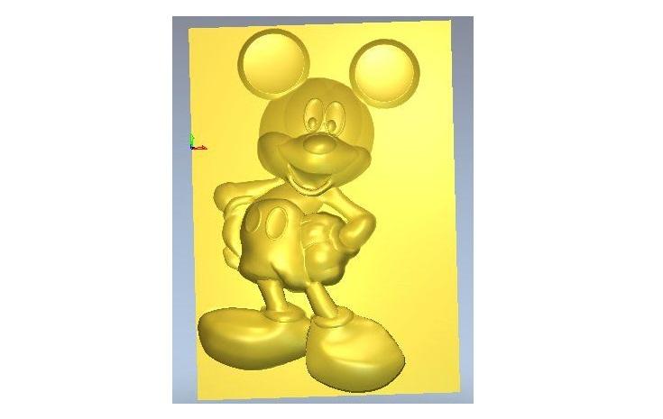 STL Model for CNC Router 3D Printer Laser Artcam Aspire Relief