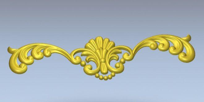 3d vector ornament arabic islamic relief stl decoration