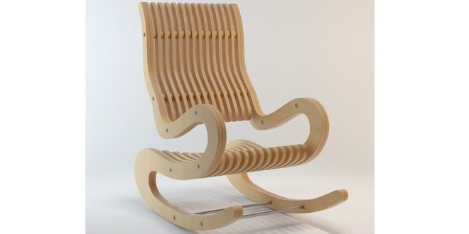 Rocking chair 15mm CNC ROUTER dxf cdr files download