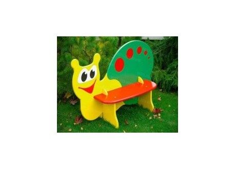 Snail bench for children dxf file vector to cnc router