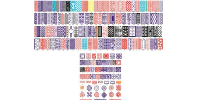 TOP KIT PATTERNS to download ONLY CDR FILE to CorelDraw vectors to cut paper wood acrylic plastic stickers