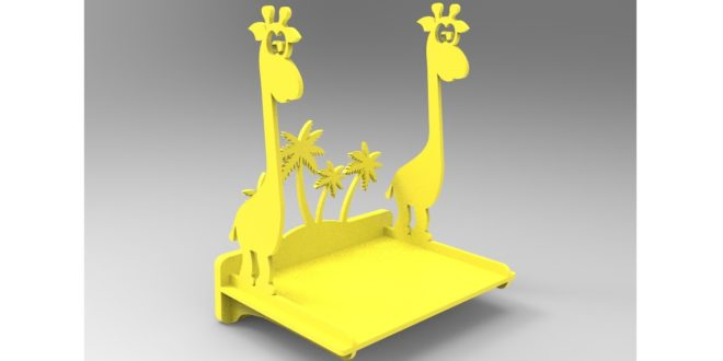 Giraffe Shelf 10mm