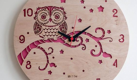 Owl watch dxf file