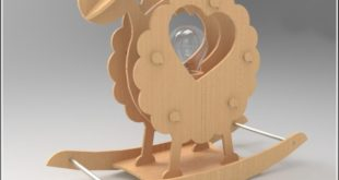 Sheep Lamp Design
