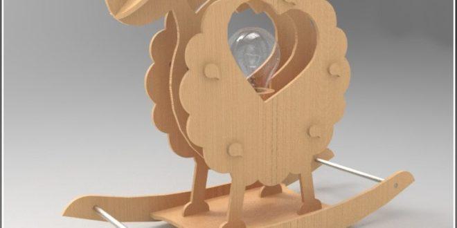 Sheep Lamp Design