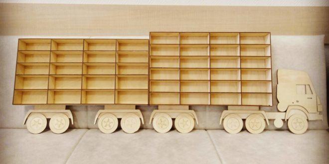 Truck Shelf for trolleys