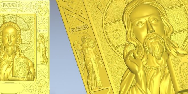 stl 3d jesus angels with wings – vector 3d stl religious christianity