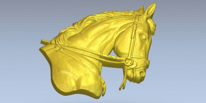 Horse head file to download cnc router