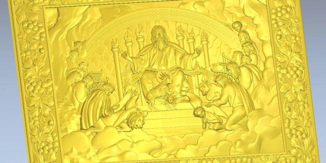 Saluting the king 3d relief artcam vcarve vectric aspire cut3d