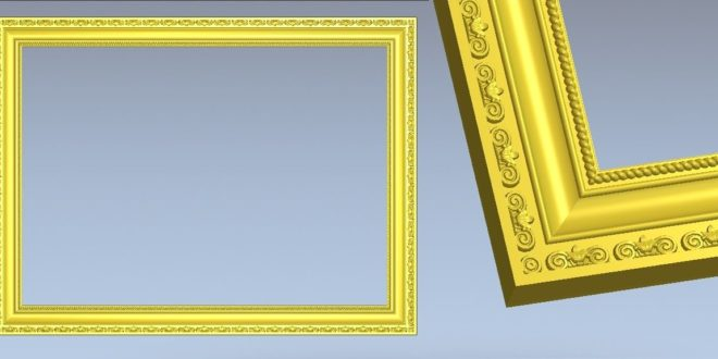FREE picture frame relief to cnc