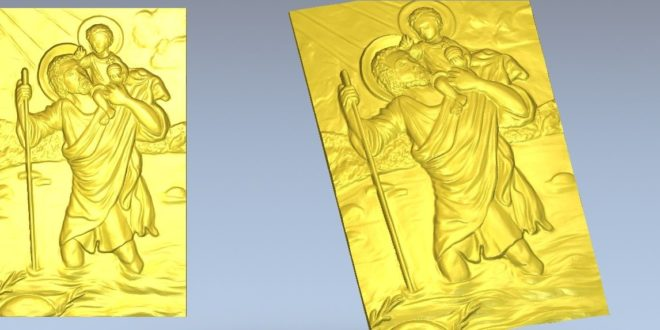 religious 3d vector stl relief file