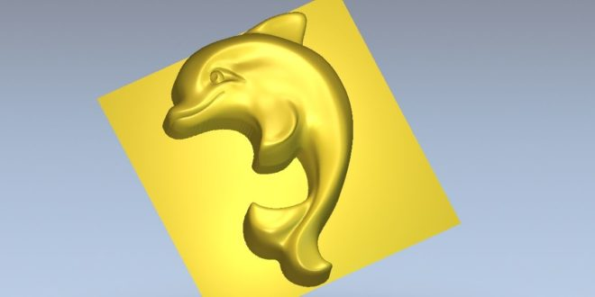 Dolphin 3d printer or relief to cnc router