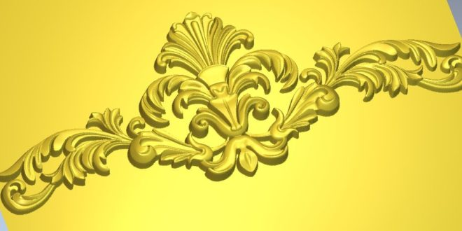 Ornament boss finery pretty stl 3d file