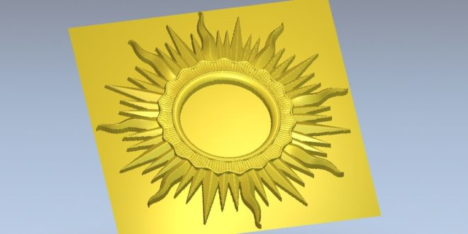 Free stl file cnc router 3d print sun style frame