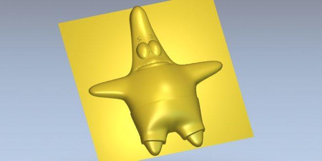 3d Patrick Star SpongeBob SquarePants stl file
