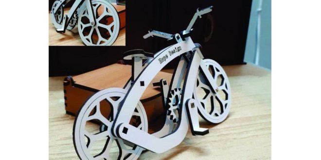 Bike lazer cut vector dxf cdr