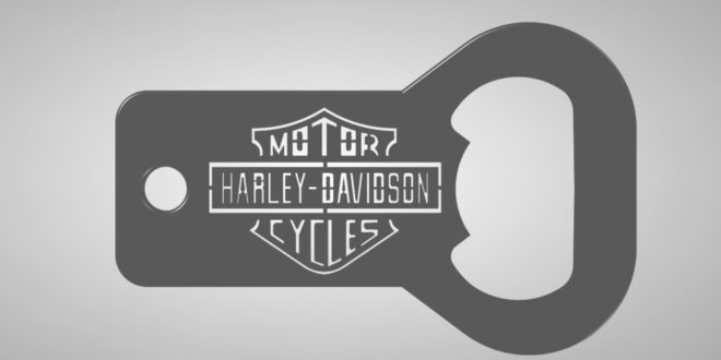 FREE harley davidson bottle opener and keychain
