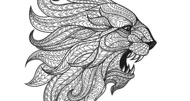 Lion engraving laser