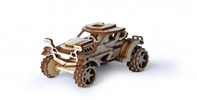 FREE Wooden Car Toy Template CDR Laser Cut