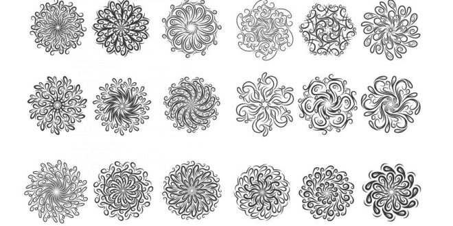 Free Engraving Vectors Ornaments Circular
