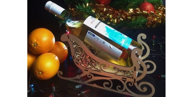 Free sled sleigh sledge bottle holder