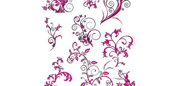 Free CNC File Engraving Flower Patterns CDR