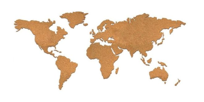 World map in version 12 CDR free