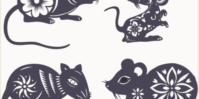 FREE Mouse laser cut template archive cdr
