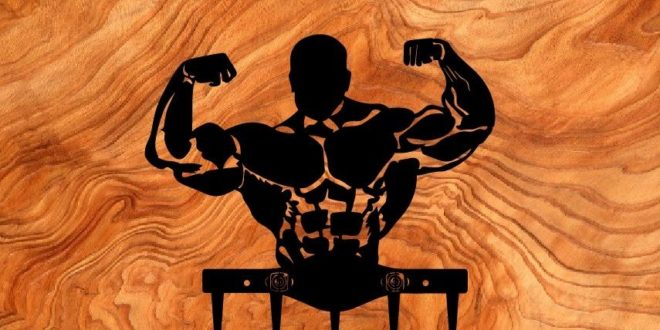Muscled gym dxf to download