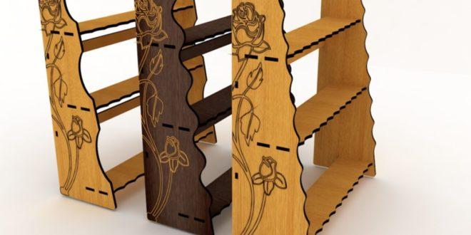 CNC Template File Rack Shelf Stand Cabinet Furniture