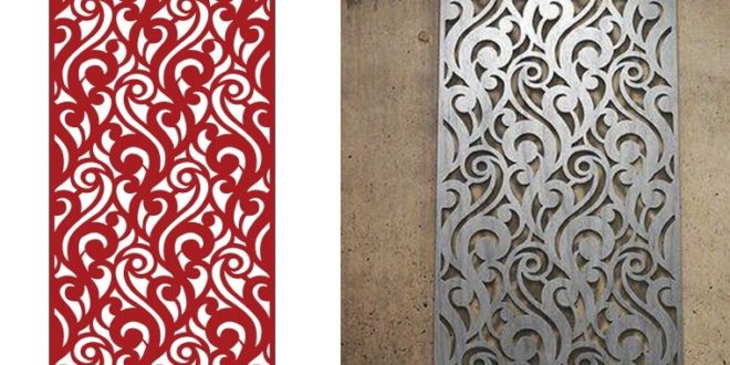 Free Carved decorative grid dxf
