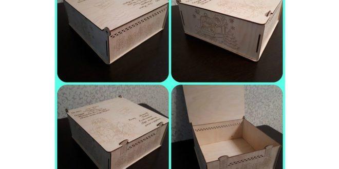 Free santas christmas santa claus box cdr laser cut and engraving