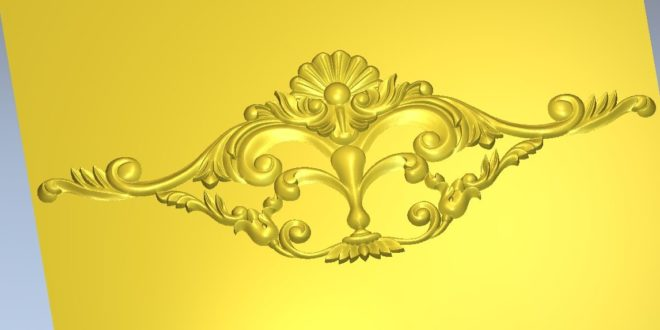 Free stl Decoration ornament 1177