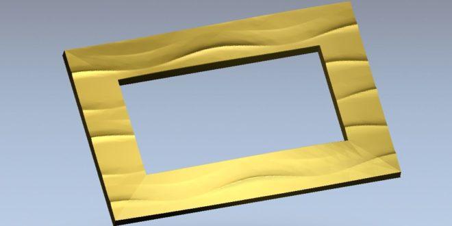 Free Frame File 3d Vectric Aspire Cut 3D ArtCam Vcarve 1209