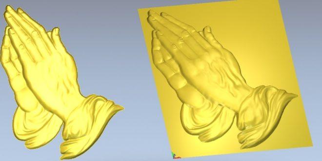3D Model Sacred hand Religious Model STL 1291