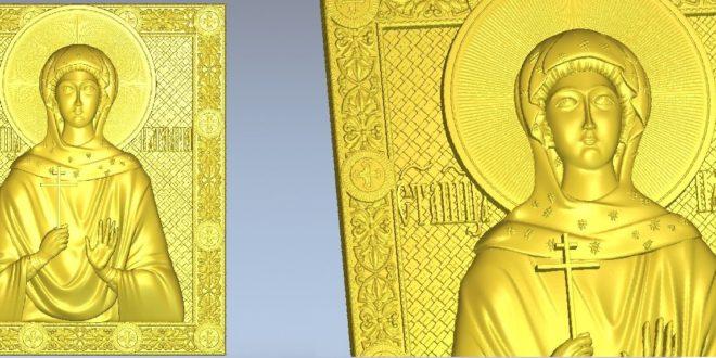Religious 3D File Relief 1292