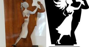 Free Dancers figurine cnc cut cdr dxf file