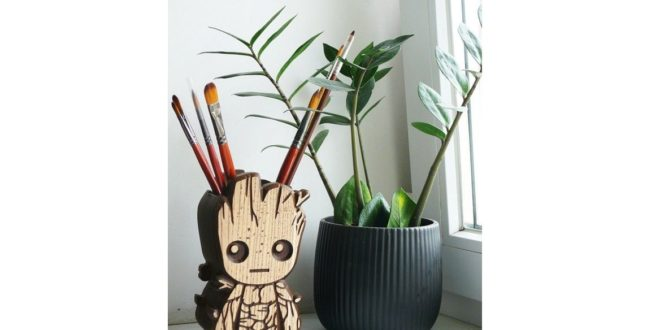 Free Baby Groot Pencil – Guardians of the Galaxy