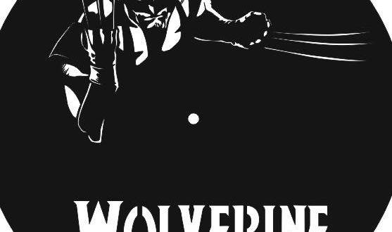 Free Vector Wolverine Vinyl Clock Laser Cut