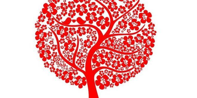 Free Tree Decor Sticker CDR