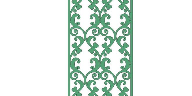 Cnc Cut Wood Wall Panel Art Free Vector Cut Cdr