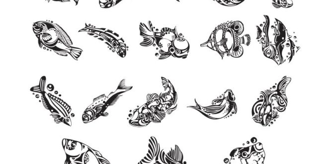 Free fish vector cnc laser router engraving