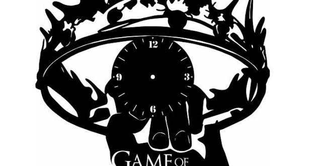 Free Game of thrones Clock