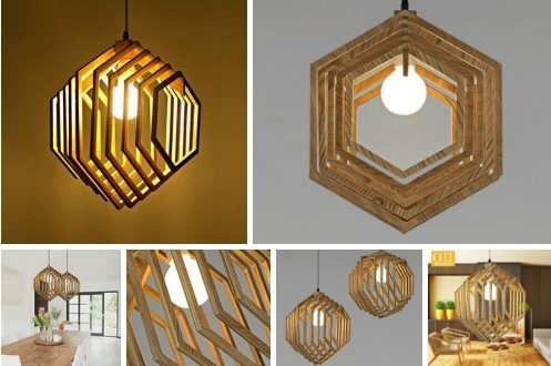 Free cnc cut Chandelier Lamp