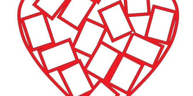 Free Cnc Laser Vector Heart Picture Frame Photos