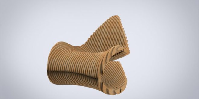 Cnc Vector Parametric Seat Chair Furniture CDR DXF